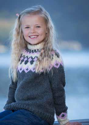 tröja barn 5.0 mm mönster gratis