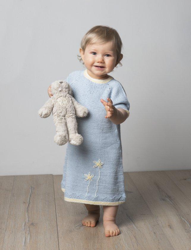 Babyklänning i Viking Bambino